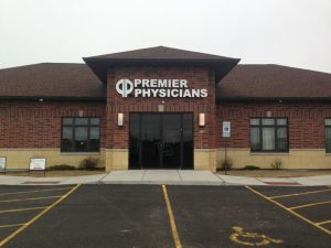Premier Physicians exterior channel letter sign