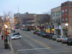 Downtown Waukegan, IL
