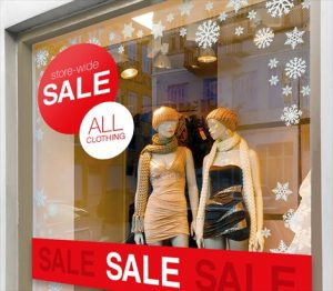 Highland Park Window Signs & Graphics promotional sign 2 300x262