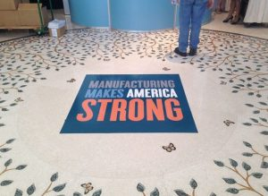 Illinois Custom Office Signs floor vinyl 300x219