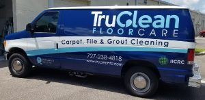 Park Ridge Vinyl Printing Vehicle Wrap Tru Clean 300x146