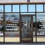 Prospect Heights Window Graphics Copy of Chiropractic Office Window Decals 150x150